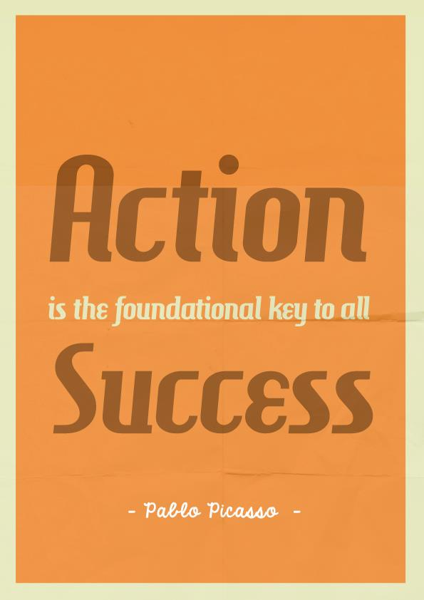 a description of action as the key to success Sample definition essay - success  and technology is the key to happiness, and hence, success  action principles successorg american success institute.